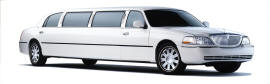 10 Passenger Stretch Limousine in White